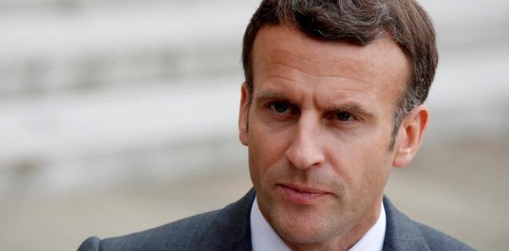 Macron Voices Concern Over Violence between Israelis, Palestinians
