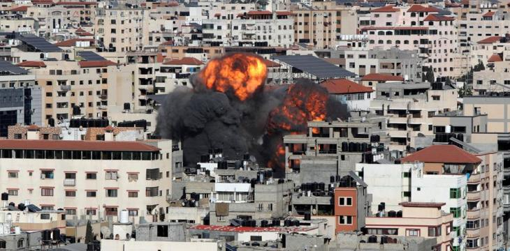 Israel Pounds Gaza, Palestinian Death Toll Mounts