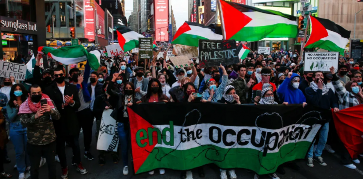 Protesters March in Sydney, Melbourne against Israeli Attacks on Gaza