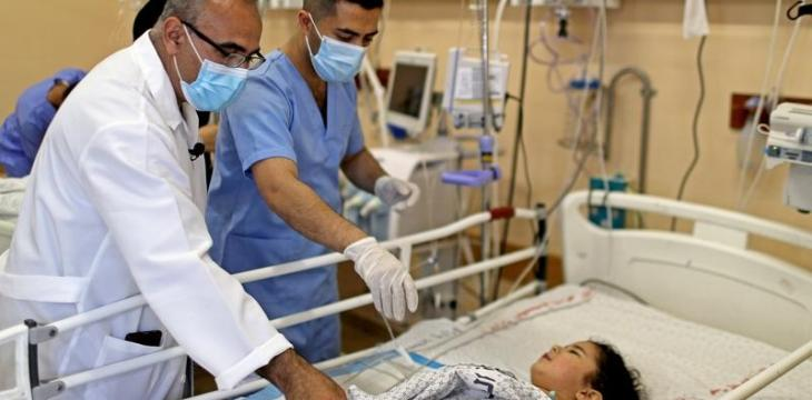 COVID and Conflict: Gaza's Hospitals Strained on Two Fronts