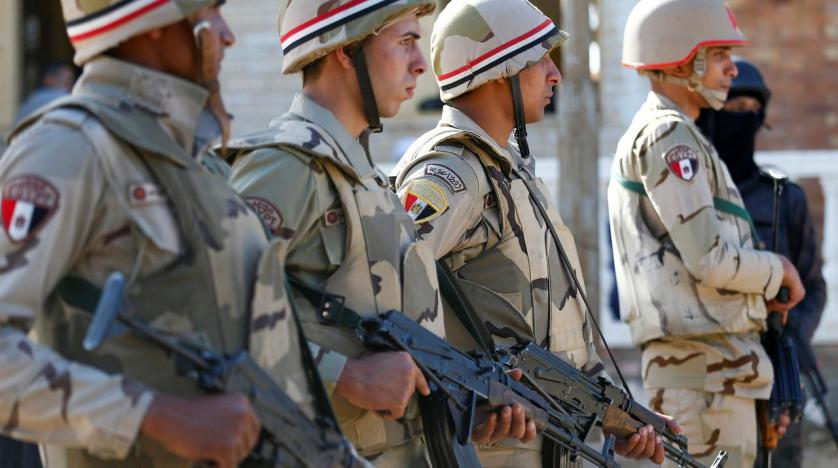 Egyptian Army Says it is Aware of Risks Facing the State | Asharq ...