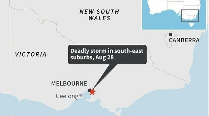 Child Among Dead After Wild Winds Lash Victoria State