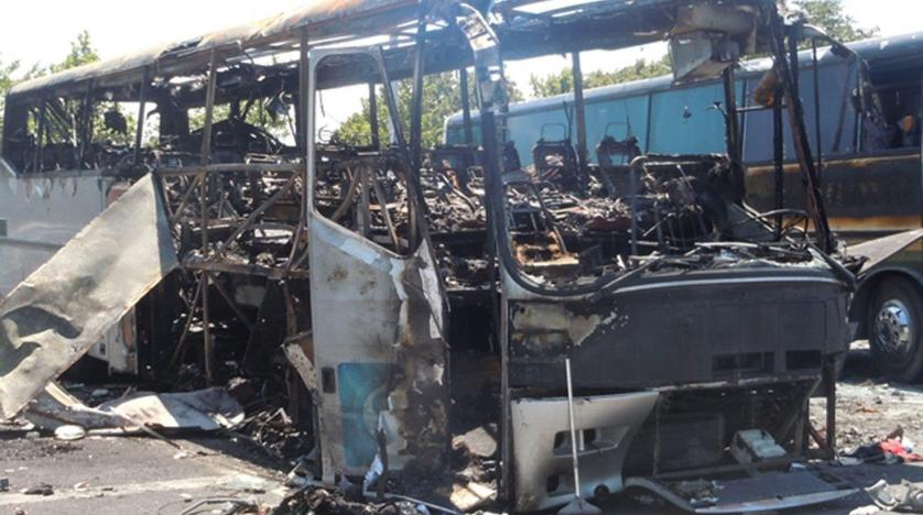 Bulgarian court jails two men for life over deadly 2012 bus bombing