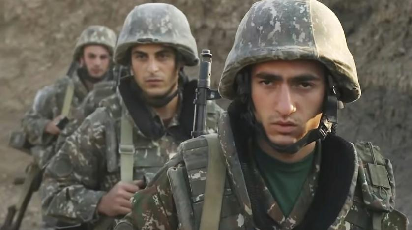 Alleged Syrians in Nagorno Karabakh