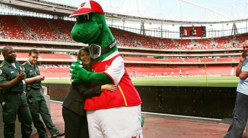 Arsenal fans fight to save Gunnersaurus from extinctionSport