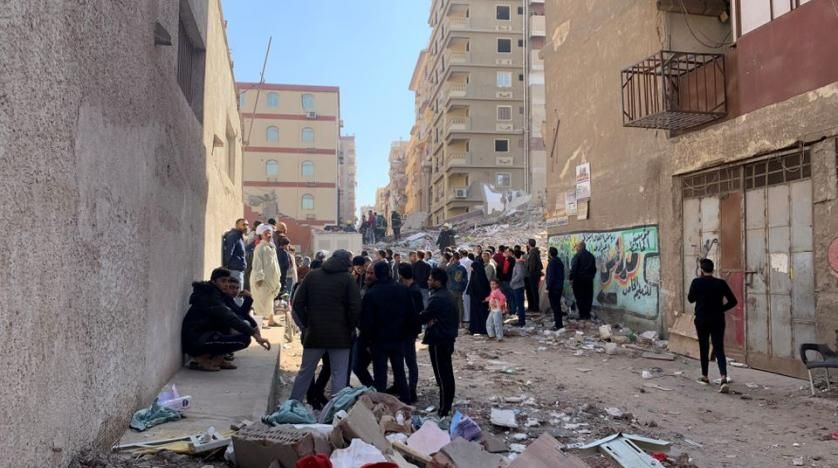 Three People Killed After Apartment Building Collapses in Egypt