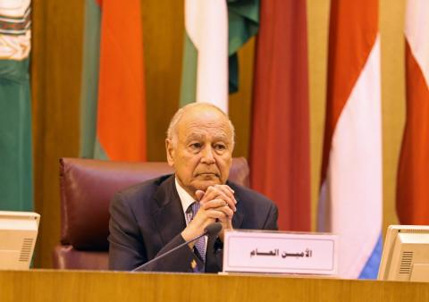 Aboul Gheit: Libya's Crisis Could Only be Resolved Politically