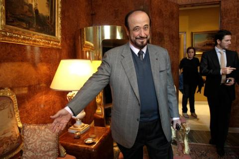 Rifaat Assad's Son Says Father Interested in Returning to Syrian Politics