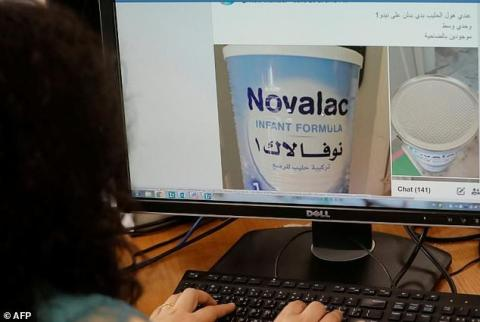 Lebanese Mothers Barter Clothes for Baby Milk amid Prices Hike