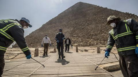 Egypt Reopens Airport, Tourist Sites as it Eases Virus Restrictions