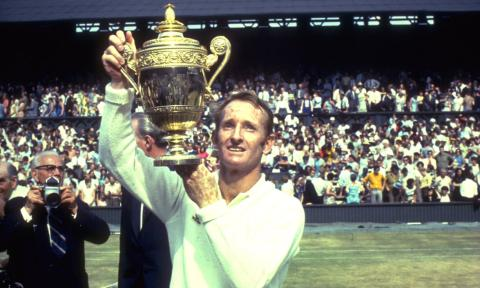 Rod Laver Climbed Tennis's Sporting Everest Twice, Without Asterisks