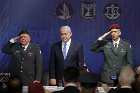 Israeli Chief of Staff Accuses Iran of Planting Explosives in Golan Heights