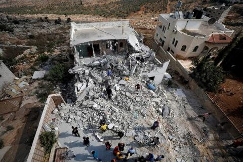UN: Israel Demolished over 500 Structures in West Bank in 2020