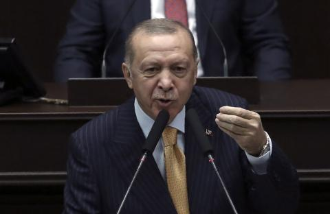 Erdogan Vows Action over 'Disgusting' Charlie Hebdo Cartoon
