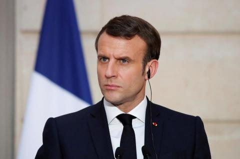 France's Macron Calls for Respect after Comments by Turkish President