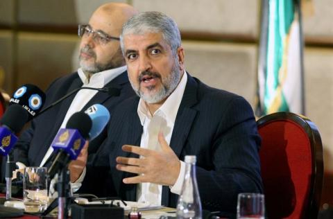 Hamas Elects Former Chief Meshaal to Head Diaspora Office