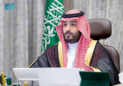 Saudi Crown Prince Receives Telephone Call from Emir of Qatar