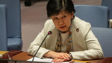 UN Official Reports Undeclared Syrian Chemical Warfare Agent