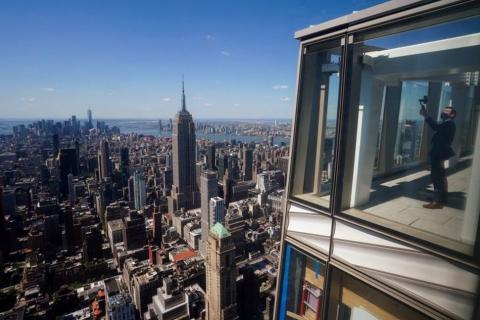 'Exhilarating' Views from New Observation Deck 1,200 Feet Above NYC