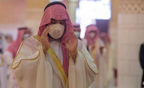 Saudi Crown Prince Performs Eid Prayer in Riyadh