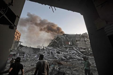 Saudi Arabia, Egypt Call for Gaza Ceasefire