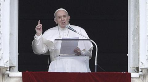 Pope Denounces Spiral of Violence Between Israel, Palestinians