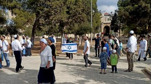 Israel Allows its Flag to be Raised in Al-Aqsa